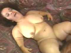 Midget MILF getting fucked backside