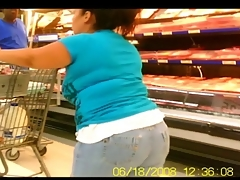Chubby Butts in Jeans &amp, Shorts - Public Creeper
