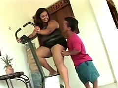 BBW Mature get Banged by Horny Short Guy